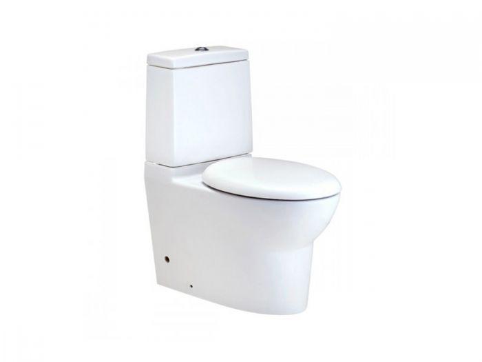 COTTO Proteus II White Dual Top Flush Toilet Suite