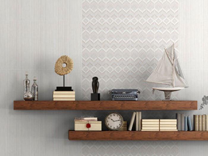 Canvas Thread Ceramic Wall Tile - 300 x 600mm